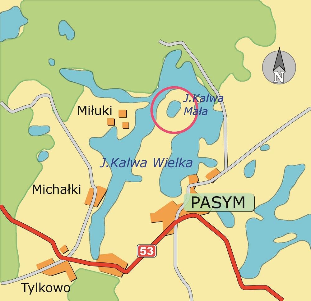 Mala Kalwa Jezioro Łowisko