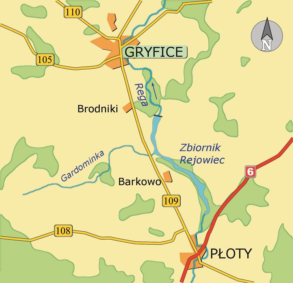 Rejowiec mapa