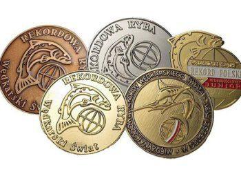 medale Wędkarski Świat